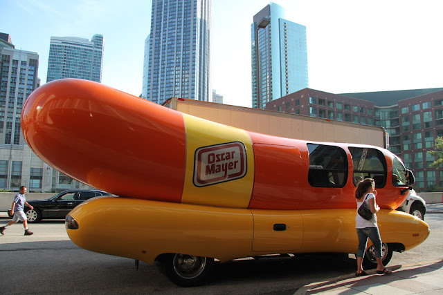 Image: Oscar Meyer Wienermobile, by Betsy Weber on Flickr