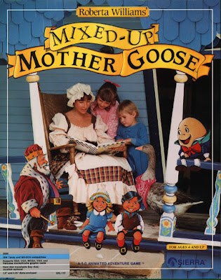 Portada videojuego Mixed-Up Mother Goose