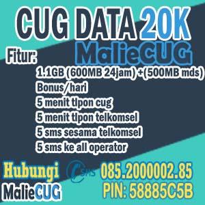 CUG Data 20K