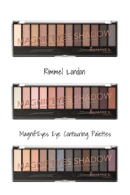 Rimmel London Magnif'Eyes Eye Contouring Palettes Collection