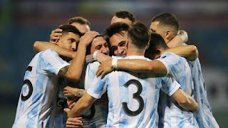 Copa America:Argentina beat Ecudator to play Colombia Semifinal