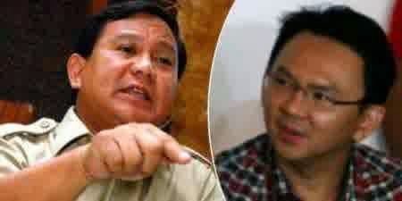 Prabowo Mengatakan Ahok Tidak Punya Etika Tata Krama