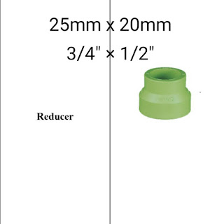 """Jual reducer pipa ppr lesso 3/4"""" x 1/2"""""""