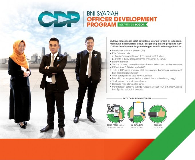 Rekrutmen BNI SYARIAH - ODP Bogor