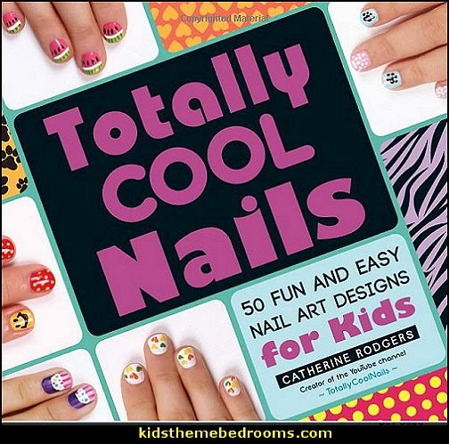 nail art design ideas Totally Cool Nails  50 Fun and Easy Nail Art Designs for Kids