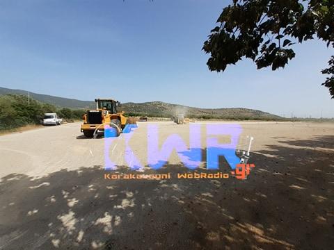 Ξεκίνησαν οι εργασίες ανακαίνισης του γηπέδου του Κορακοβουνίου