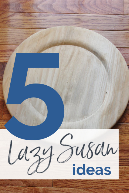 wooden plate with overlay
