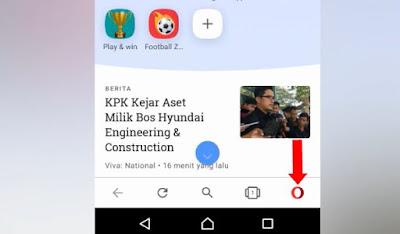 Cara Mudah Membuka Situs Yang Di Blokir Di Android Hanya Dengan Opera Mini Vpn