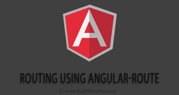 Routing in angularjs using angular-route