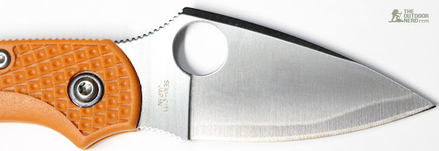 Spyderco HAP40 Dragonfly Photo Review - Blade 1