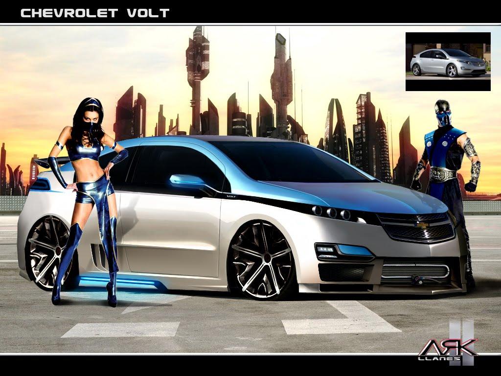 Virtual Tuning Design By ARK Llanes Chevrolet Volt 2011