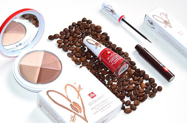 Collistar Collezione Caffe, лак для ногтей Oil Nail Lacquer оттенок 317 Caffe Macchiato, Professional Eyeliner   оттенок 28 Caffe, 4 Eyeshadow Palette Flawless Wear, оттенок 1 caffe freddo
