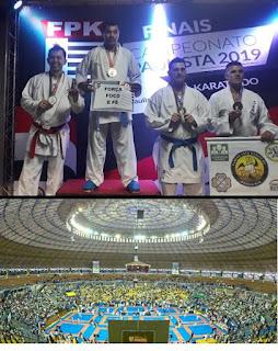 Atletas de Miracatu são medalhistas na final do Campeonato Paulista de Karate 2019