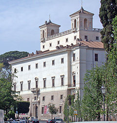 The Villa Medici has been the home of the French Academy in Rome since 1803