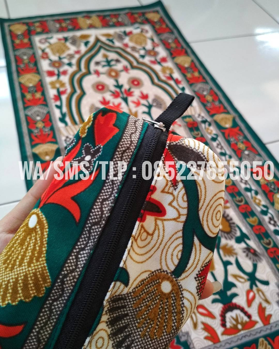 sajadah praktis, sajadah tas WA 0852 2765 5050