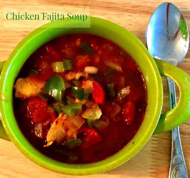 Moms Pantry: Recipe: Chicken Fajita Soup