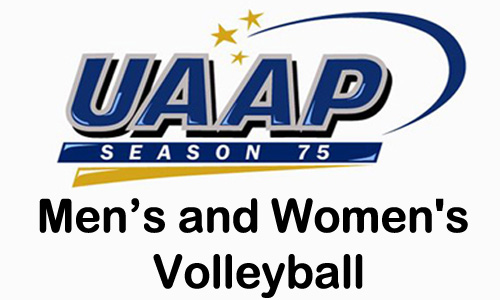 UAAP Season 75 Men's and Women's Volleyball Games Schedule