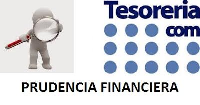 PRUDENCIA FINANCIERA Resolución de 16 de septiembre de 2016