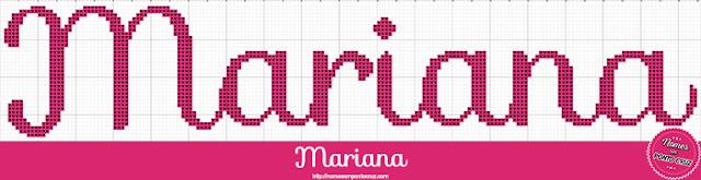 Nome Mariana em Ponto Cruz