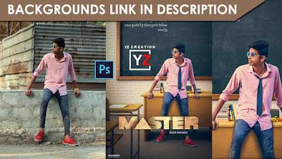 master movie cinematic photo manipulation | master poster | Yzcreation 2020