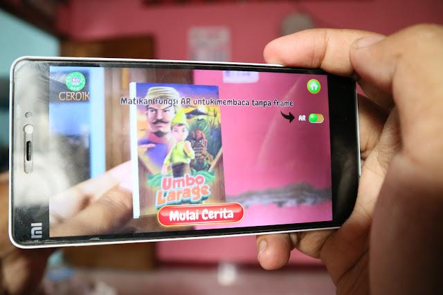 Mengenal Aplikasi Dongeng Augmented Reality Untuk Kids Jaman Now