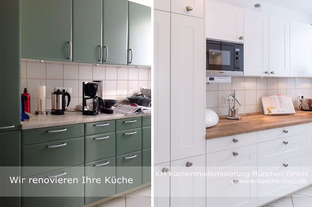 Wir renovieren Ihre Kche : Zeyko Kueche - neue Fronten ...
