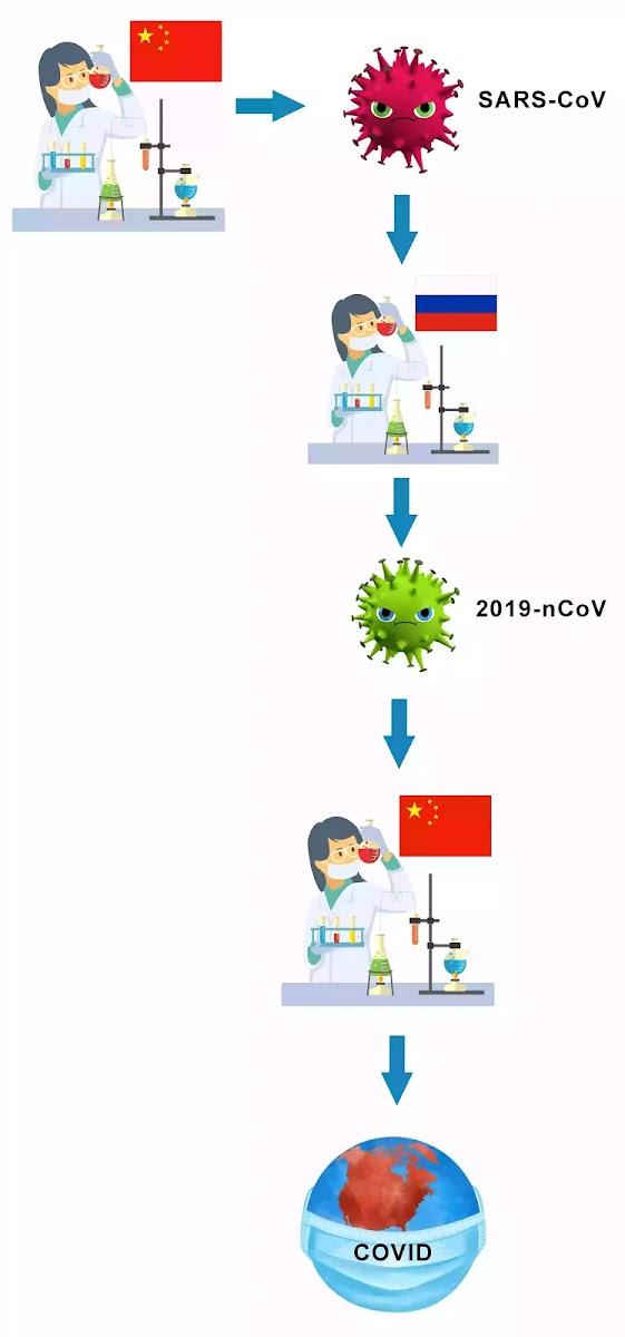 Коронавирус создан в лаборатории