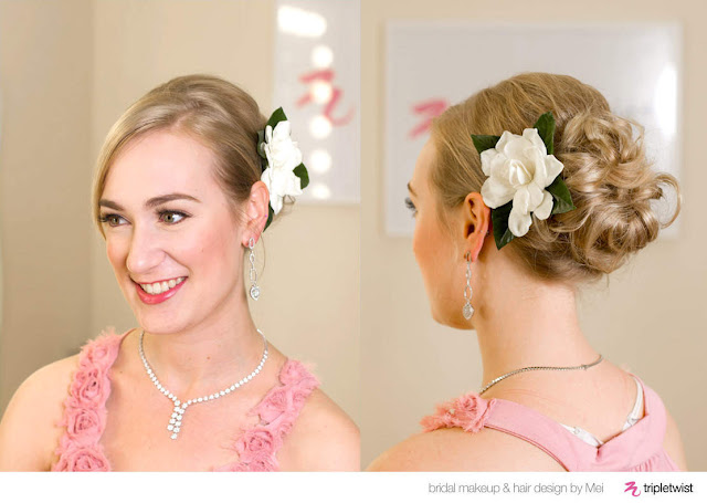 Wedding Hairstyles For Short Hair 2012: Blooming Flowers Wedding Hairstyles For Short Hair