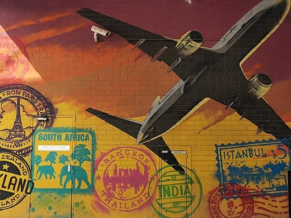 Canberra Street Art | Passport by Dai Cameron