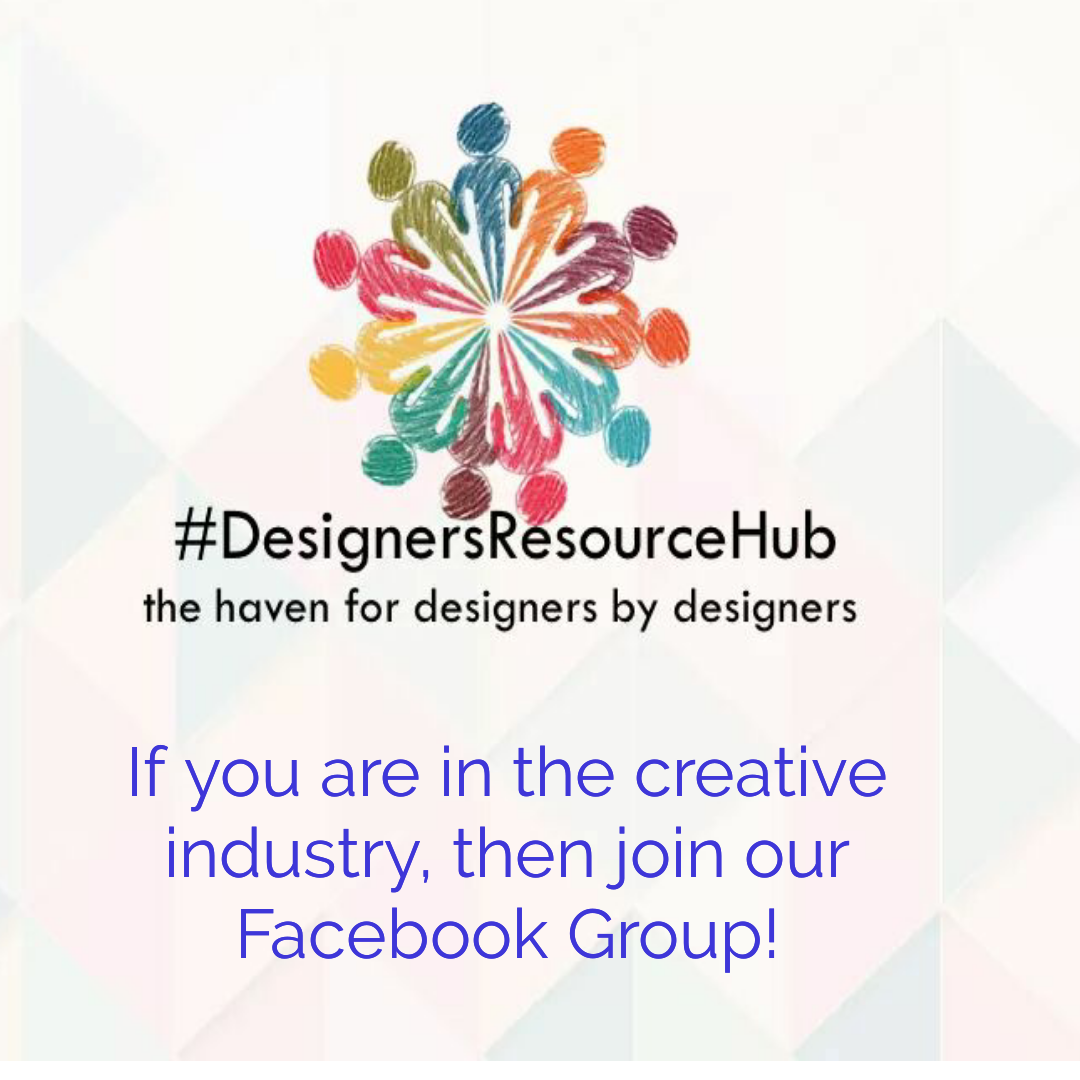 Have you joined the Designers Resource Hub Facebook Group