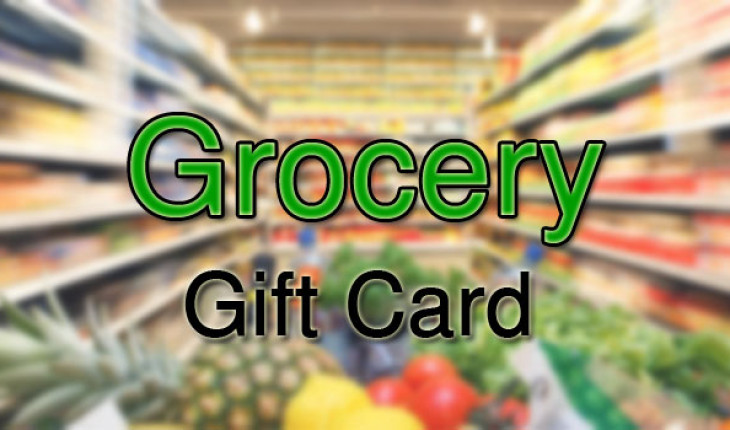 Win Grocery Store Gift Cards of $100 Valued Today!