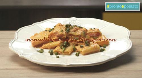 Pronto e postato - Pasta ai tre peperoni ricetta Benedetta Parodi