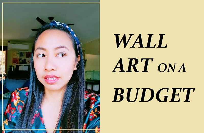 How To Make DIY Wall Art on a Budget (In Any Prints!)