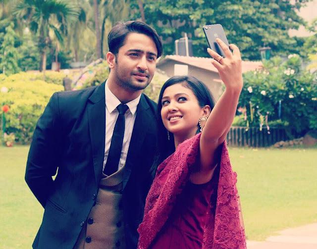 Prerna Panwar and Shaheer Sheikh