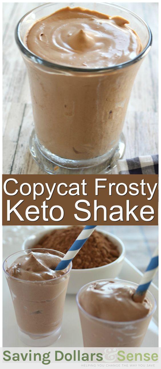 Copycat Frosty Keto Shake Recipe