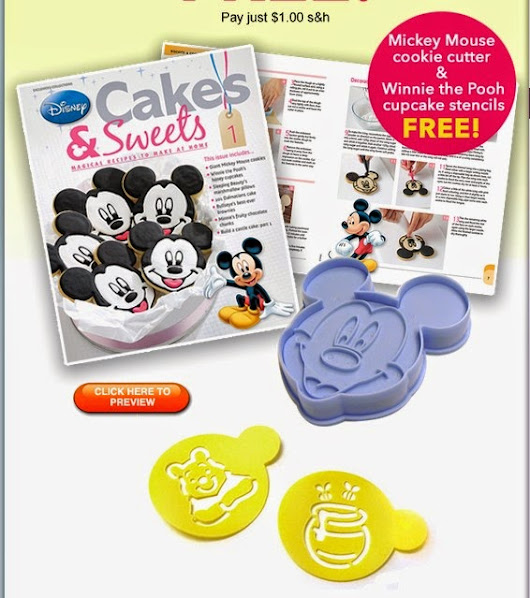Disney Cakes & Sweets Decorating and Baking Collection