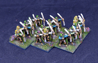 1st place: Wood Elves, by clawlessdragon - wins £40 Pendraken credit!