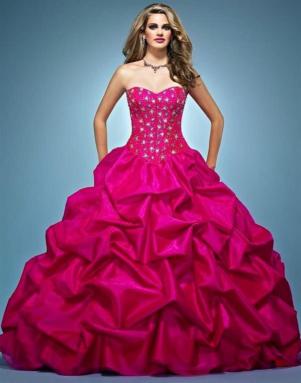 79b11ca55 Lindos Vestidos de 15 años Estilo Princesa