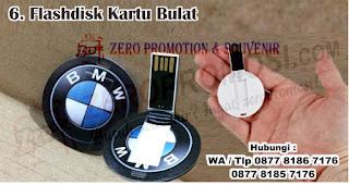 Flashdisk Kartu Bulat merupakan salah satu jenis flashdisk kartu untuk dijadikan souvenir