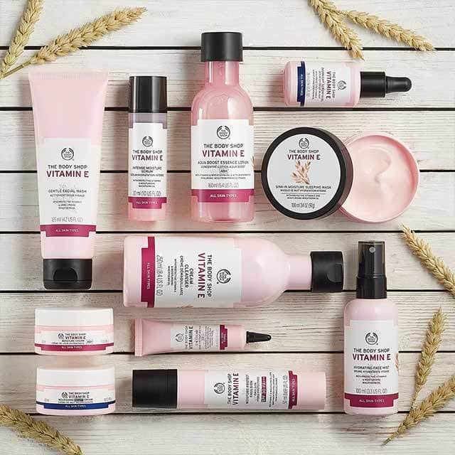 The Body Shop Vitamin E Collection
