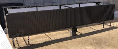 SUP/ポータボートなど長物収納物置 DIYレビュー