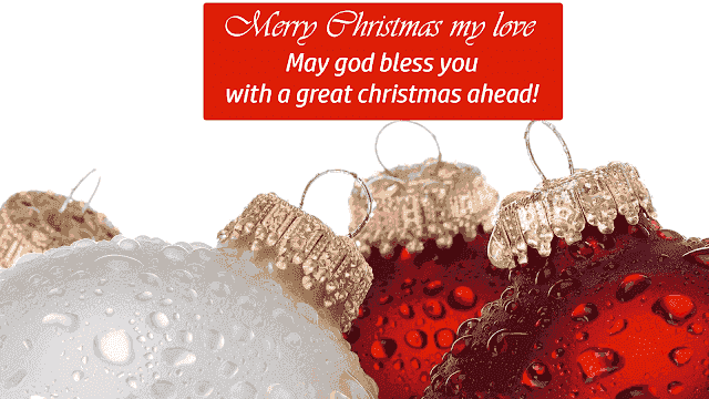 Merry Christmas my love images