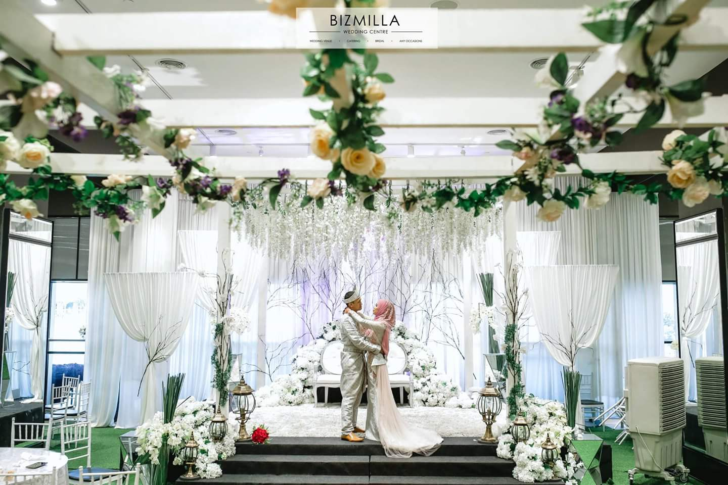 Halls with Different Themes @ Bizmilla Wedding Centre