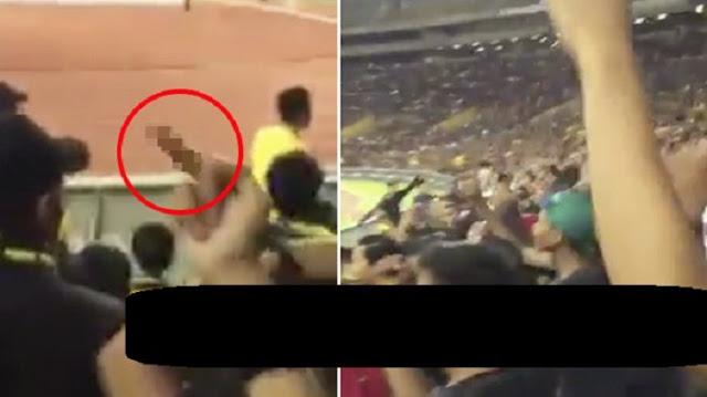 Video Ulah Suporter Malaysia Terekam, Saat Caci Timnas Negara ini dengan Sebutan Tak Pantas Bikin Geram Netizen