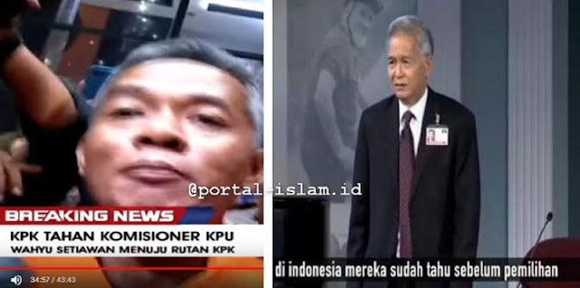 "Suap Komisioner KPU, Teringat Video Viral Pernyataan Dr. G T Ng: ""Hasil Pemilu Indonesia Sudah Diketahui Sebelum Pelaksanaan"""