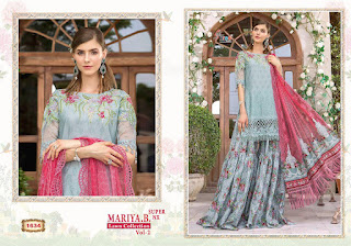 Shree fab Maria B Lawn 2 Super Nx Pakistani Suits Collection