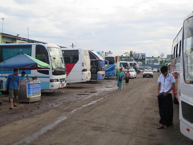 Estación de Autobuses de Yangón