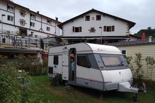 Camping de Igara, San sebastián.