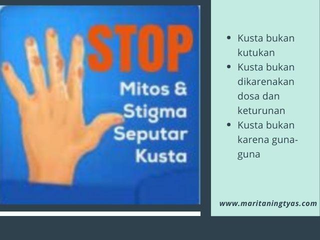 stop stigmatisasi dan diskriminasi kusta