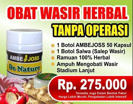 Obat Wasir Herbal Ambejoss